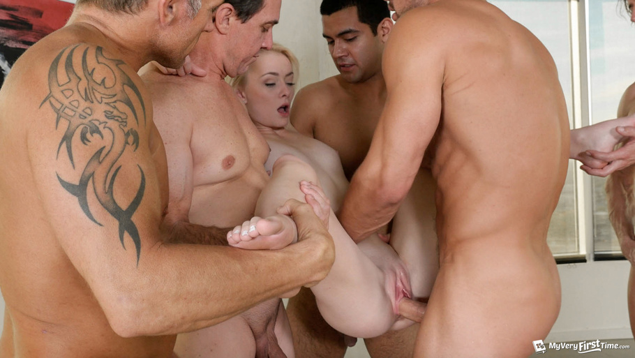 Maddy Rose First Time Gangbang WatchMyGF.me 1